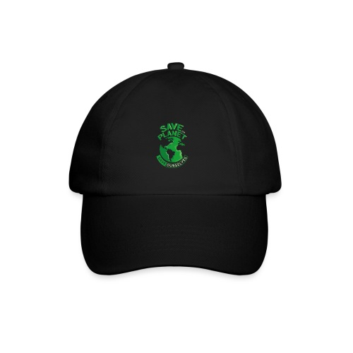 Save the Planet Save Ourselves - Baseball Cap