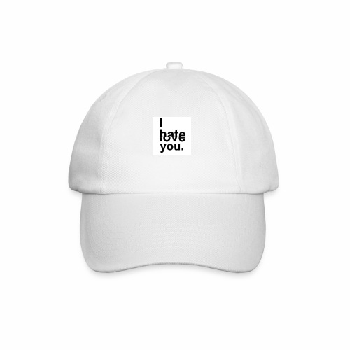 love hate - Baseball Cap