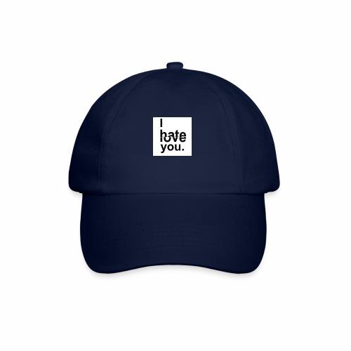 love hate - Baseball Cap