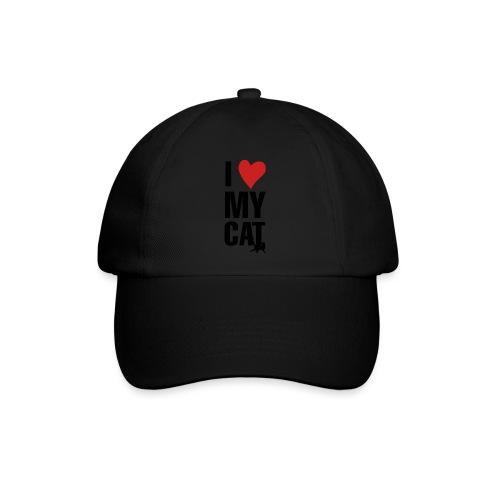 I_LOVE_MY_CAT-png - Gorra béisbol