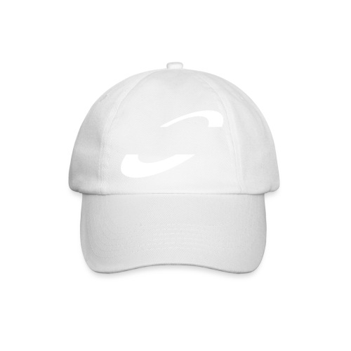 Planet Cycling Icon White - Baseball Cap