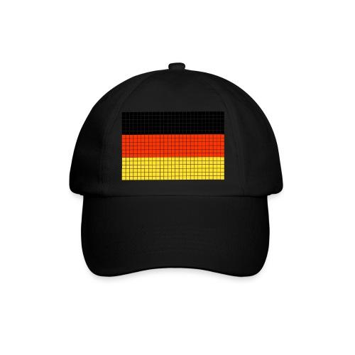 german flag.png - Cappello con visiera