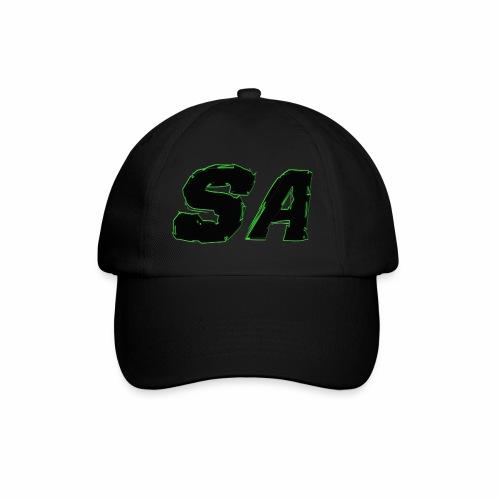 Svart SA Logo - Basebollkeps