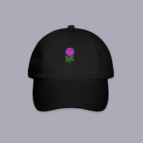 Landryn Design - Pink rose - Baseball Cap