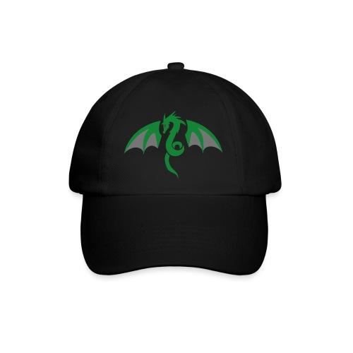 Red eyed green dragon - Baseballcap