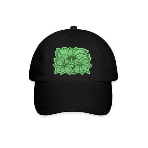 Green Man for Pagan Global Warming/Climate Change - Baseball Cap