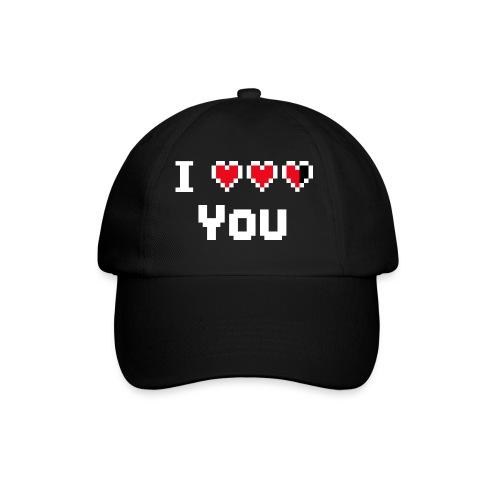 I pixelhearts you - Baseballcap