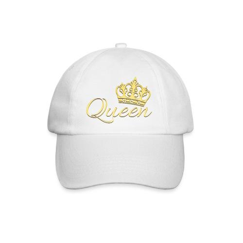 Queen Or -by- T-shirt chic et choc - Casquette classique