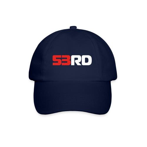 53RD Logo lang (weiss-rot) - Baseballkappe