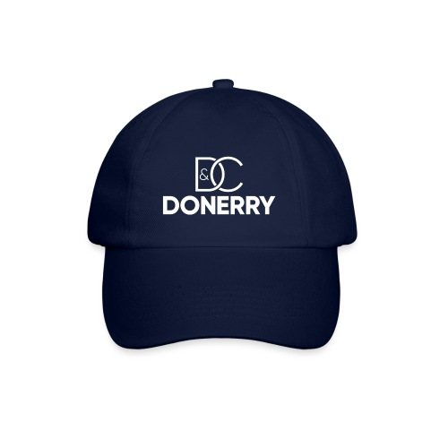 DONERRY New White Logo on Dark - Baseball Cap