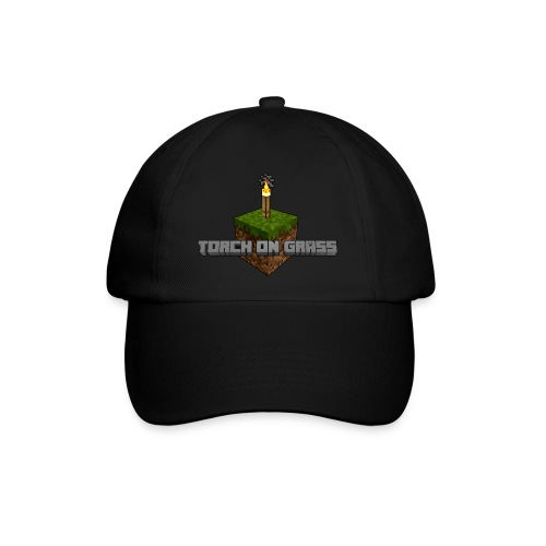 TorchOnGrass logo - Baseballcap