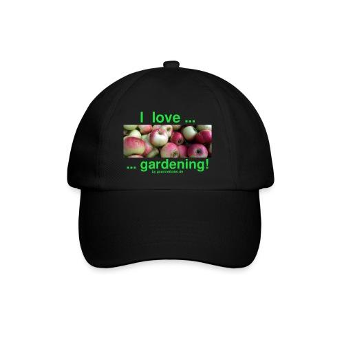 Äpfel - I love gardening! - Baseballkappe