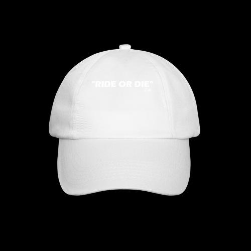 Ride or die (blanc) - Casquette classique