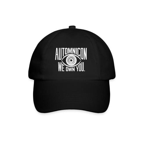 White Automnicon Logo - Baseball Cap