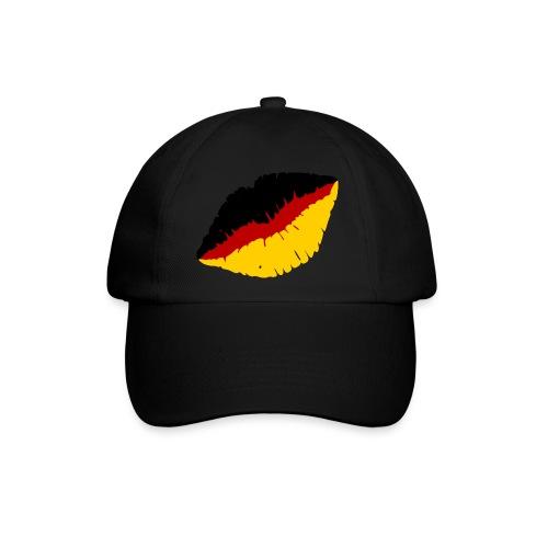 Deutschland Lippen Motiv - Baseballkappe