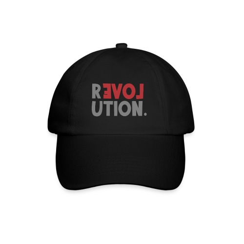 Revolution Love Sprüche Statement be different - Baseballkappe