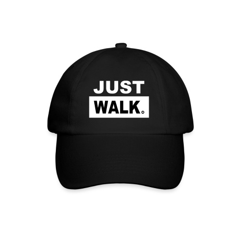 JUST WALK wit - Baseballcap