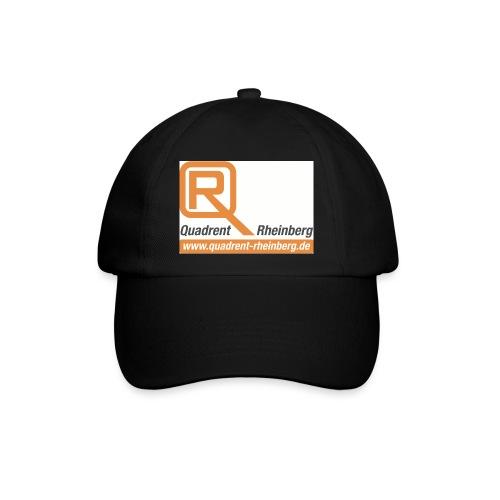 logo quadrent internet - Baseballkappe