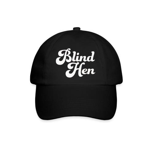 Blind Hen - Logo T-shirt, slim fit, black - Baseball Cap