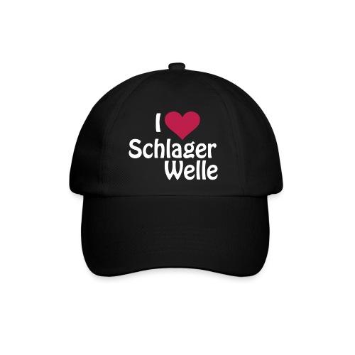 I love Schlagerwelle - Logo in Weiß - Baseballkappe