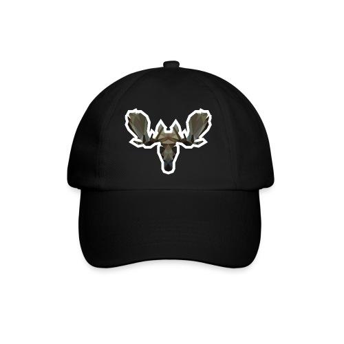 Low Poly Moosehead - Baseballcap