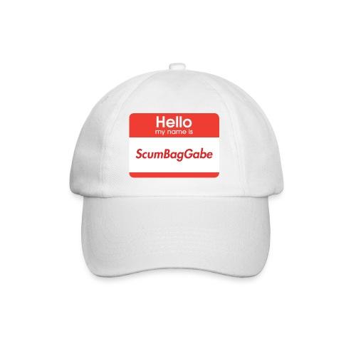 Hello My Name Is ScumBagGabe - Baseball Cap