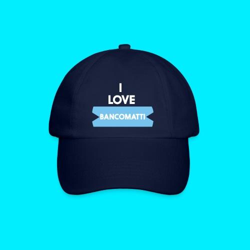 I LOVE BANCOMATTI Ver BIANCA - Cappello con visiera