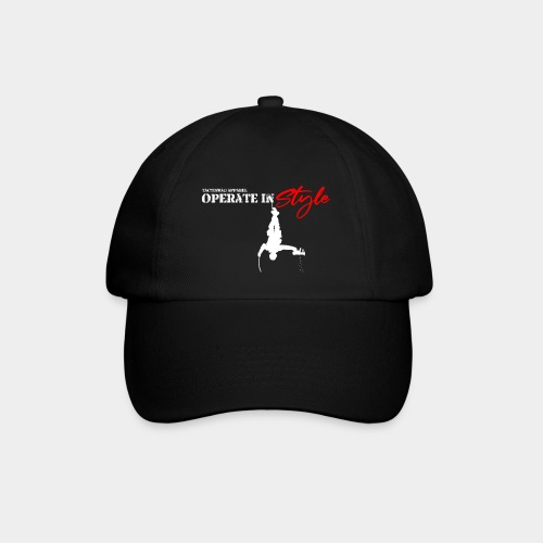 Hang in there & operate in style - Baseball Cap