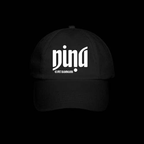 Ambigramm Nina 01 Pit Hammann - Baseballkappe