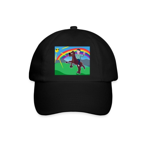 Regnbue Strandfisk Musematte - Baseballcap