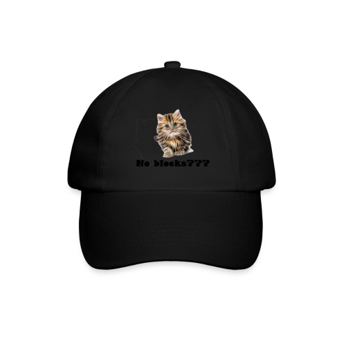 No block kitten - Baseballcap
