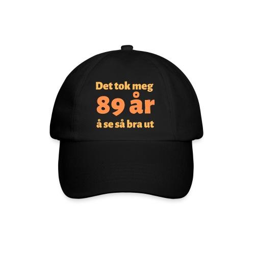 Gave til 89-åring - Det tok meg 89 år... - Baseballcap