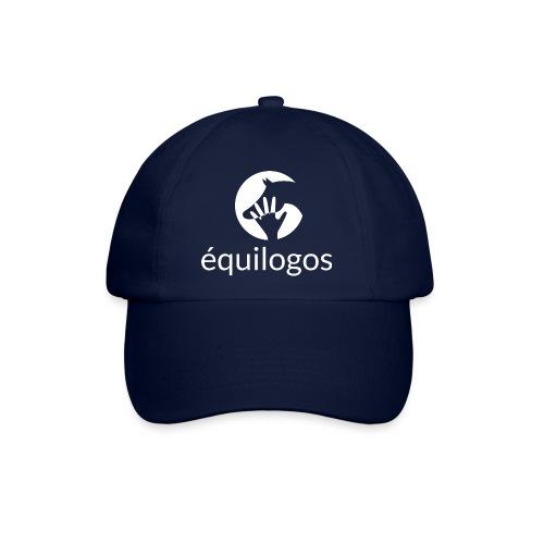 Equilogos logo blanc - Casquette classique