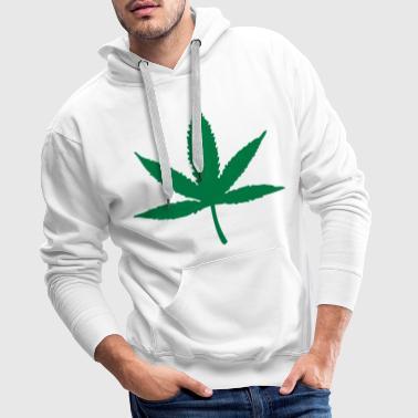 Marijuana - Cannabis - Premiumluvtröja herr