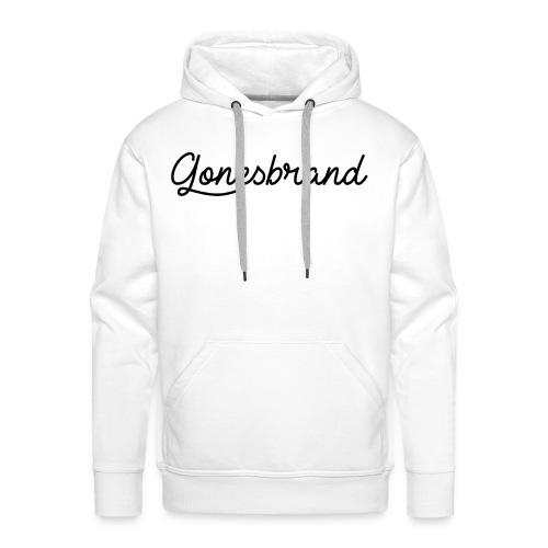 GonesBrand - Sweat-shirt à capuche Premium pour hommes