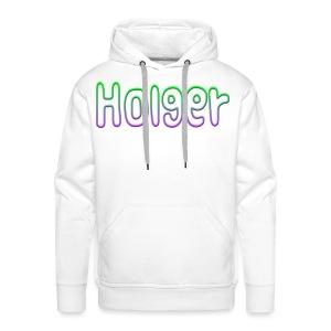 Holger - Herre Premium hættetrøje