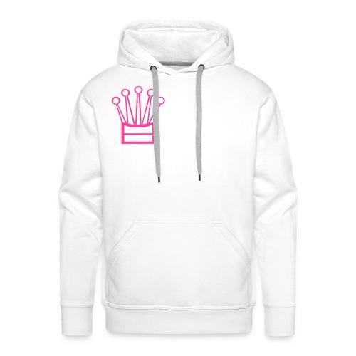 Couronne Imperator - Sweat-shirt à capuche Premium pour hommes
