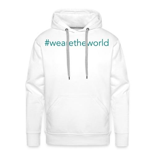 #wearetheworld - Männer Premium Hoodie