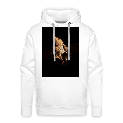 Bonfire Print - Men's Premium Hoodie