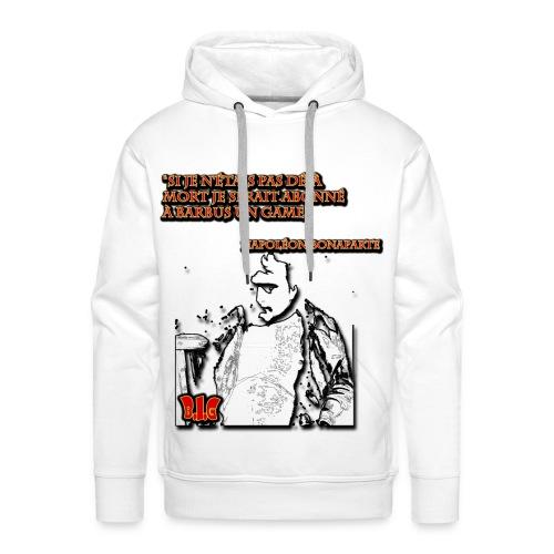 Les Grands figures de l'histoire et Barbus in game - Sweat-shirt à capuche Premium pour hommes