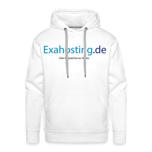 Exahosting Front - Männer Premium Hoodie