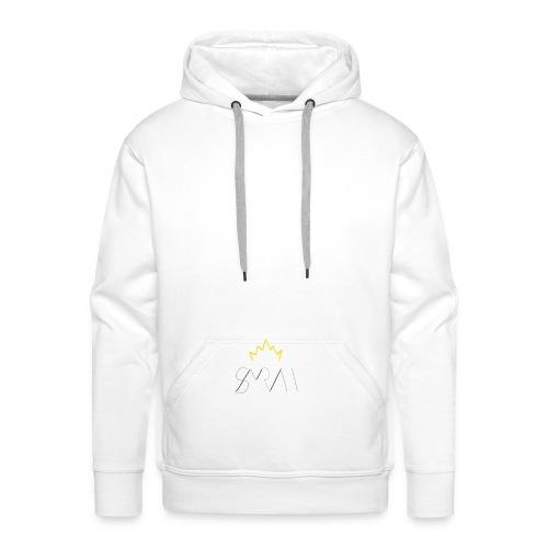 Sayrah's Logo 👑 - Sweat-shirt à capuche Premium pour hommes