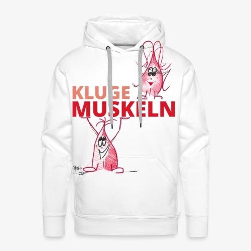 Kluge Muskeln - Männer Premium Hoodie