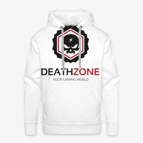 DeathZone Logo Avatar - Bluza męska Premium z kapturem