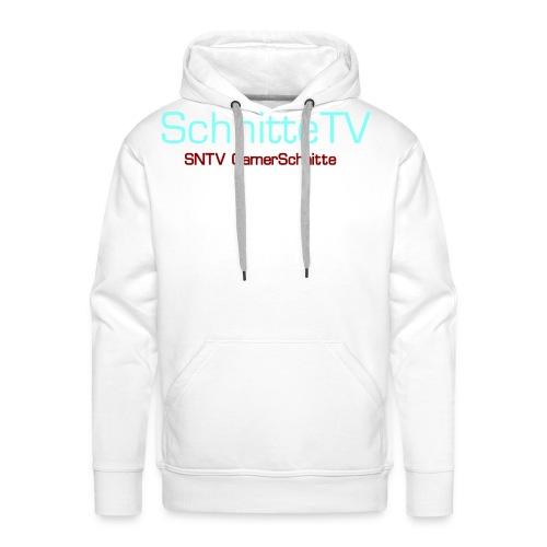 SchnitteTV SNTV GamerSchnitte - Männer Premium Hoodie