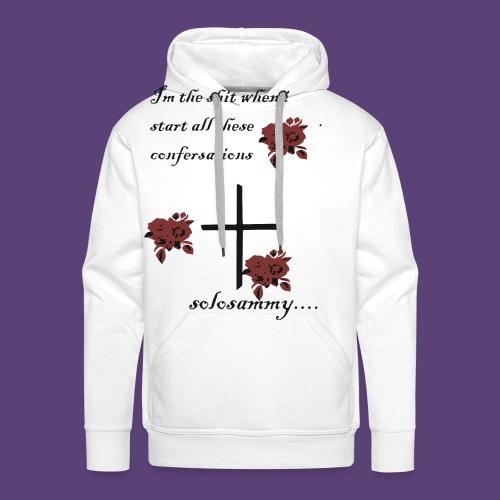 confersations_roos - Mannen Premium hoodie