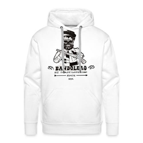 BANDOLERO BY JORGE LOPESINO - Sudadera con capucha premium para hombre