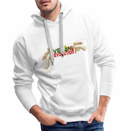 VEGAN REVOLUTION - Sweat-shirt à capuche Premium pour hommes