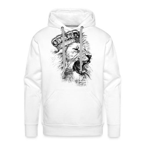 LEON KING - Sudadera con capucha premium para hombre