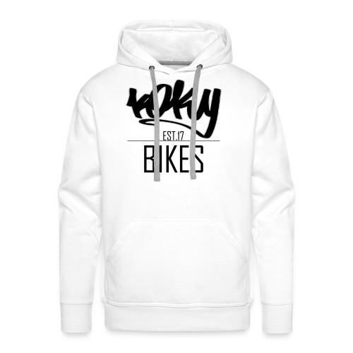 KOKYBIKES Hoodie - Begginings - Sudadera con capucha premium para hombre